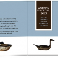 Audubon Working Wildfowl Invitation Interior