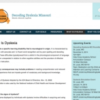 Decode Dyslexia Secondary Page