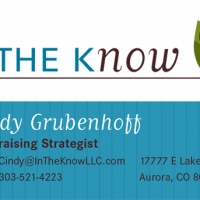 In The Know Buisness Card Front