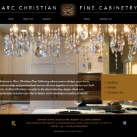 Marc Christian Homepage 1