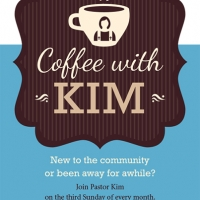Webster Hills Coffee With Kim Postcard