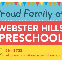 Webster Hills Preschool Proud Family Yard Sign