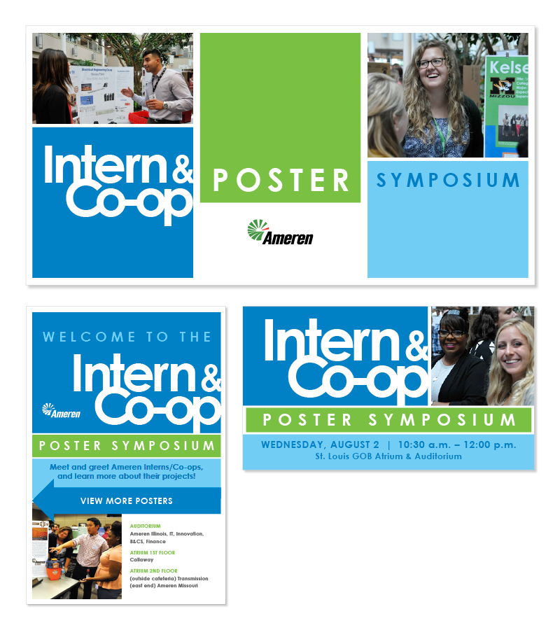 Intern and CoOp Event Signage