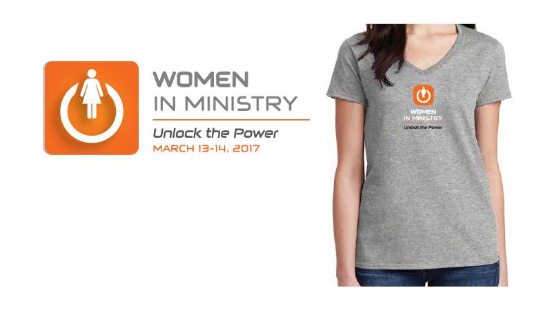 Women In Ministry Conference Logo and Tshirt