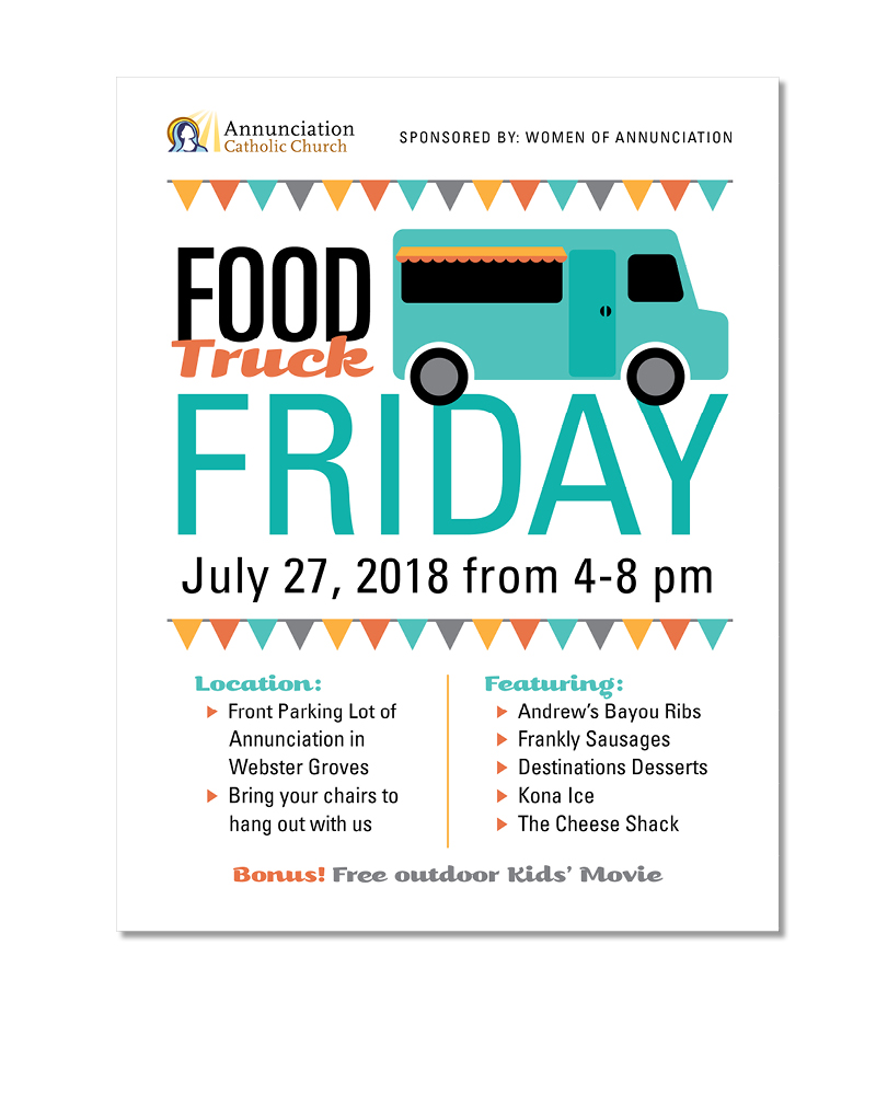 Food Truck Friday Promo