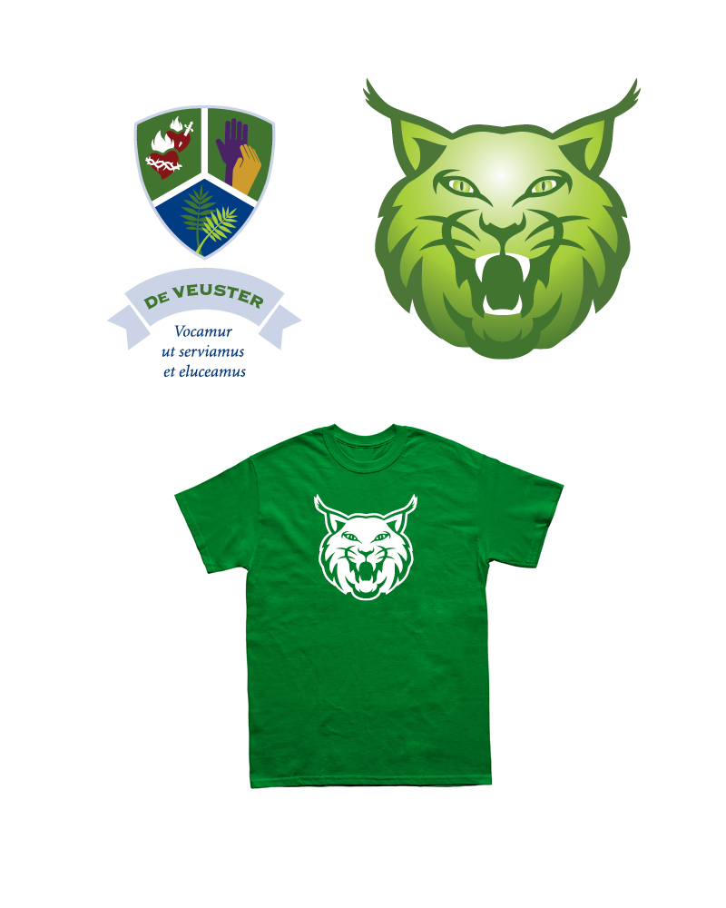 De Veuster House Crest, Mascot and T-shirt